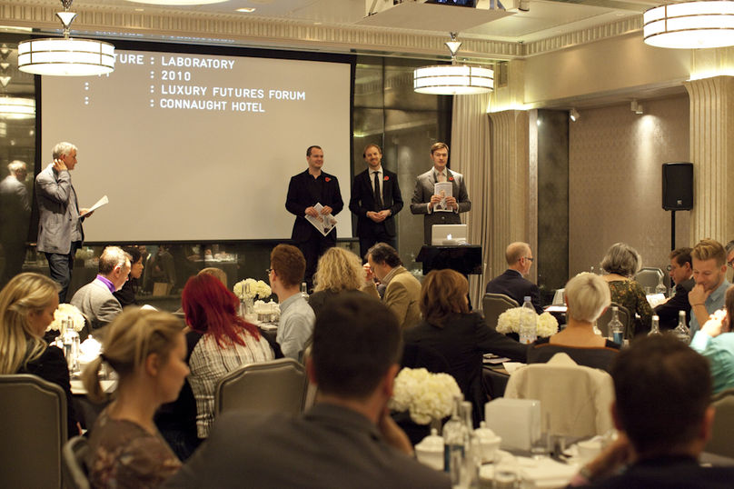 Luxury Futures Forum, The Connaught Hotel, London