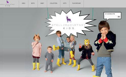 McCartney makes a play for children's fashion