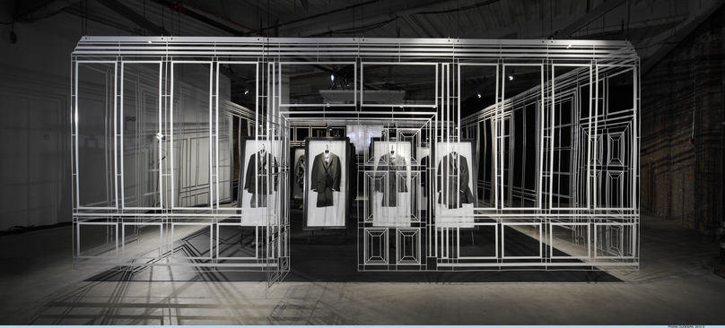 Dunhill Pop Up Store, New York, photography by Frank Oudeman