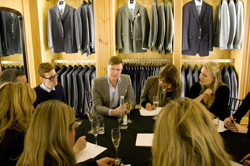 LS:N Global Luxury Network evening at Dunhill Bourdon House, London