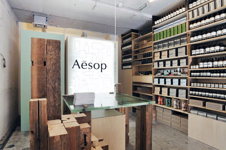 LSN : News : Clean break: Aesop shows beauty of recycling