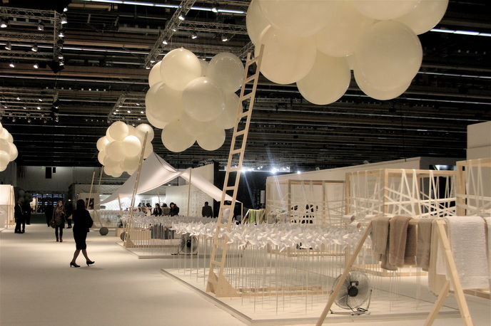 Stijlinstituut walkthrough at Heimtextil