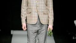 Fine and dandy: Westwood appeals to New Gents