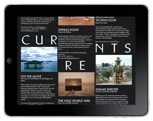 Post magazine iPad app