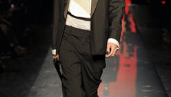 Drama king: Gaultier show licensed to thrill