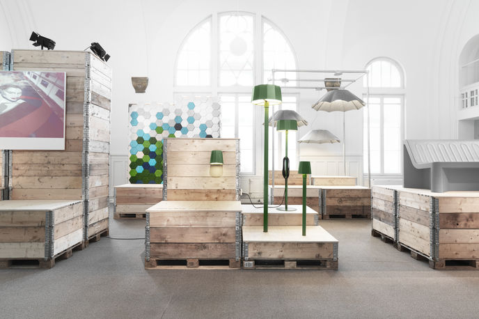 Form Us With Friends exhibit, Stockholm Furniture Fair