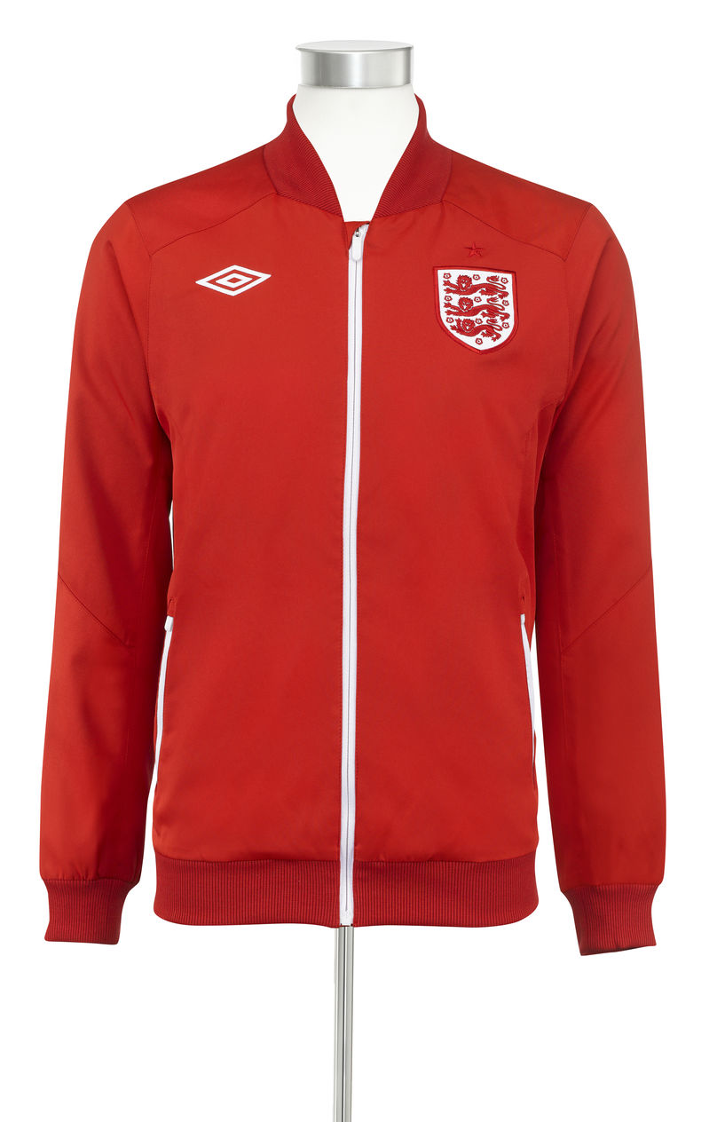 Umbro England Away Anthem Jacket by Aitor Throup
