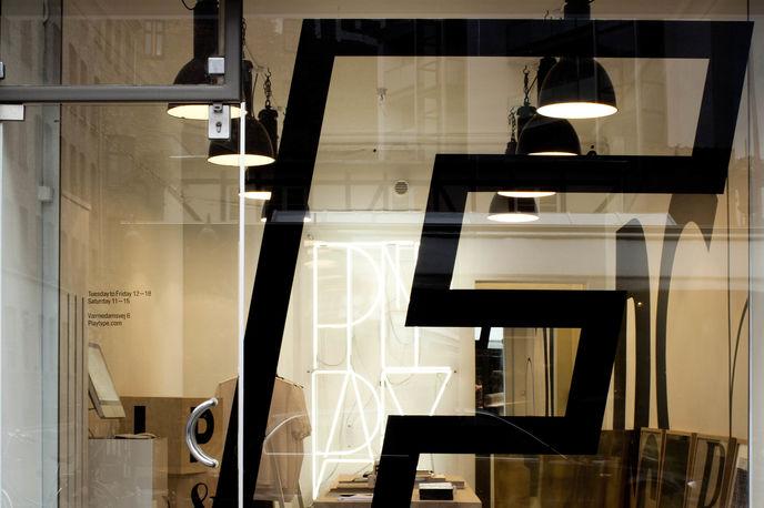 e-Types store, Copenhagen