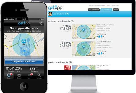 New app motivates consumers to Getupp and go