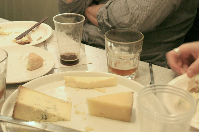 Beer and Cheese event