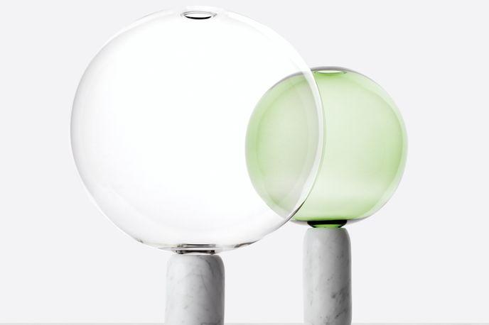 Crystal Ball by Matteo Zorzenoni, crafted by Sartori Marmi and Pietro Viero, for Edition of six