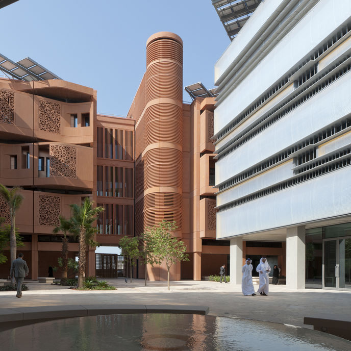 Masdar City by Foster and Partners