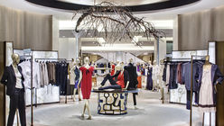 Luxury brands take control with shop-in-shops