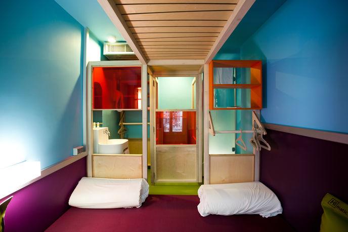 Hi Matic hotel, Paris, photography by Simon Bouisson