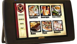 US restaurants take to the E La Carte tablets