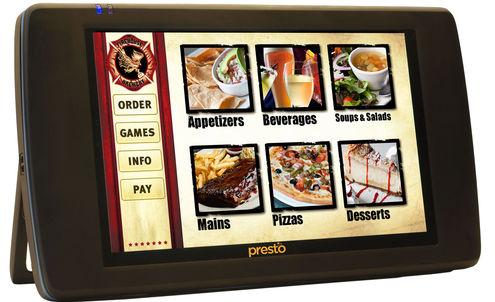 US restaurants take to the E La Carte tablets