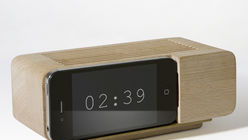Alarm call: Designer opts for a retro wake-up