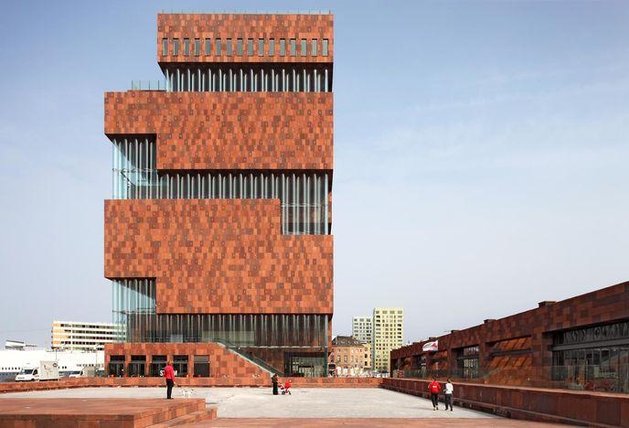 MAS museum Antwerp, photography by Filip Dujardin