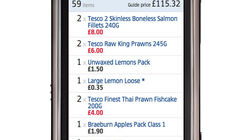 Tesco app maps out route to store navigation