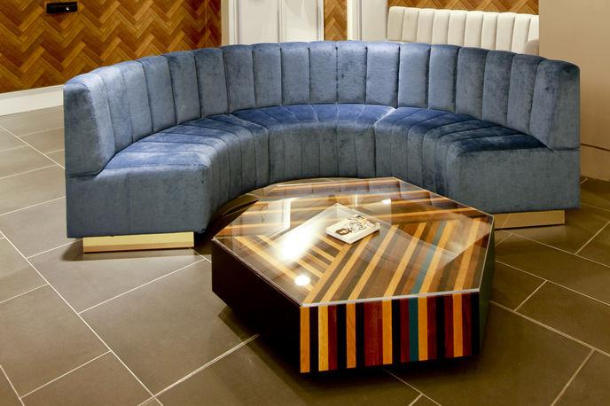 TOPMAN personal shopping suite by Lee Broom, London