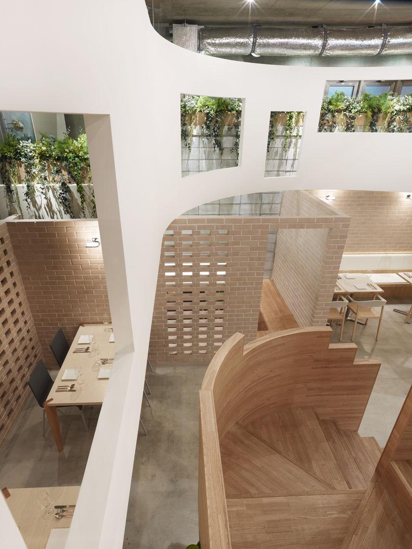 Plus Green restaurant by Sinato, Japan