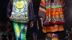 Layer it on: Fashion for texture on show at LCF