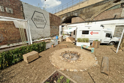 The Urban Physic Garden by Wayward Plants