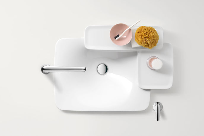 Bathroom collection by Ronan and Erwar Bouroullec for Axor Paris