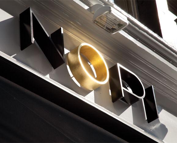 Nopi identity by Here Design
