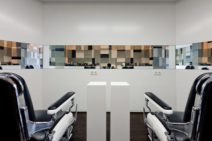 Xantippe Hairdressers, photography by Thomas de Bruyne