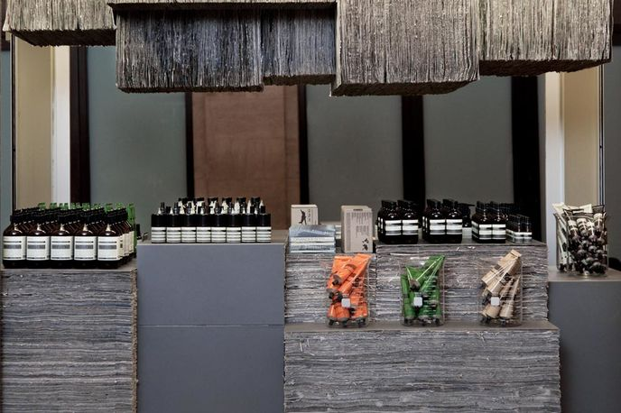 Aesop store Grand Central station