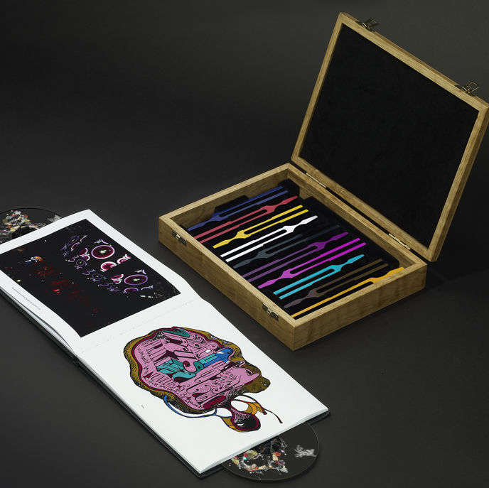 Björk: Biophilia The Ultimate Edition, packaging and photography by Will Thom
