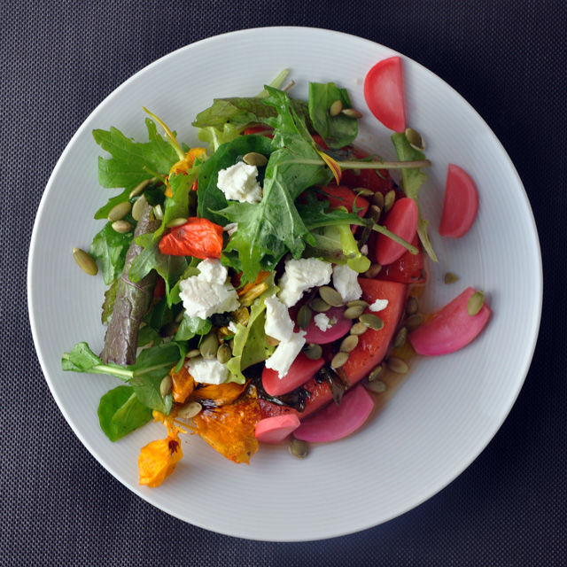 Grilled watermellon Salad