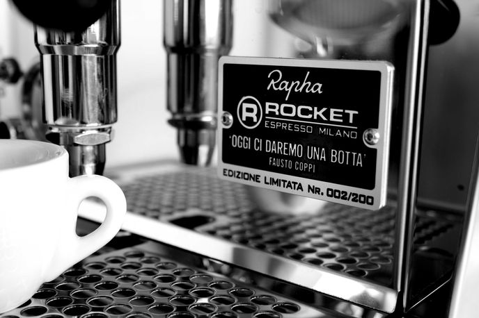Rocket Espresso for Rapha