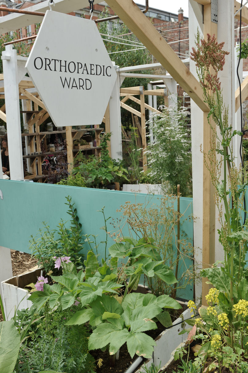 Orthopaedic Ward at the Urban Physic Garden, London