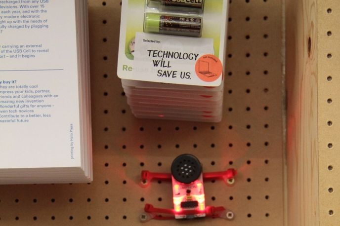 Haberdashery East by Technology Will Save Us, Rough Trade East, London