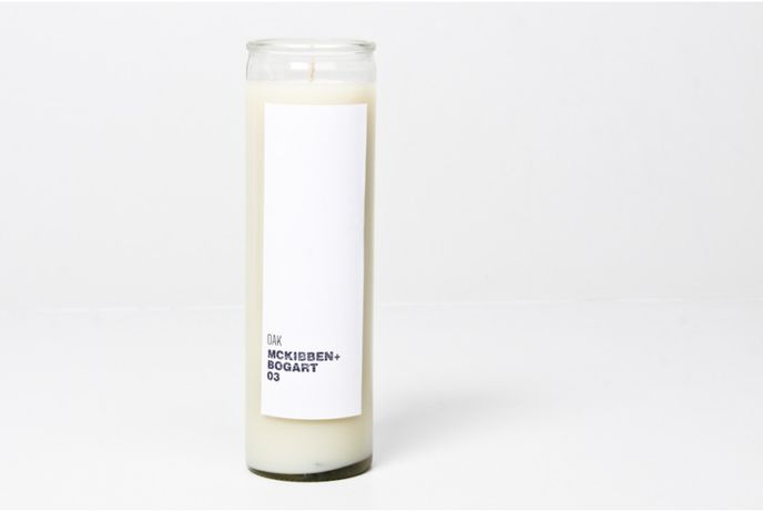 The McKibben+Bogart 03 candle by Oak