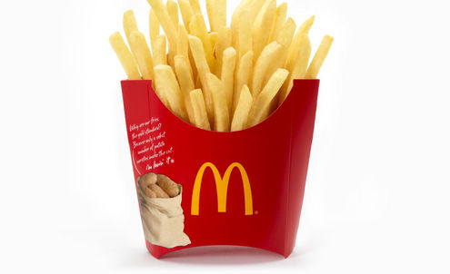 Fast food chains help to count the calories