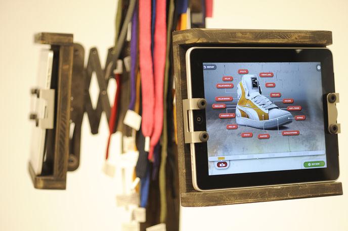 Puma instore concept, Puma Creative factory