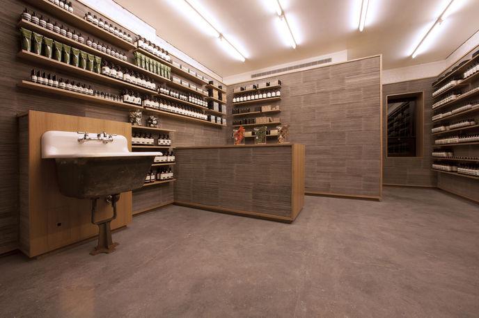 Aesop store, Nolita, New York