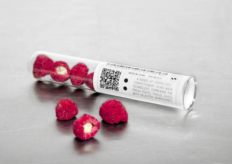 Lyophilised sweets for Sweet Shoppe