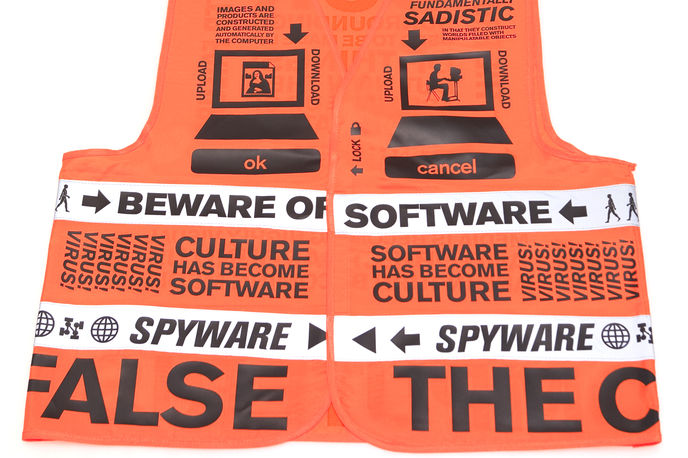 Beware of Software Vest, Saved by Droog, Milan
