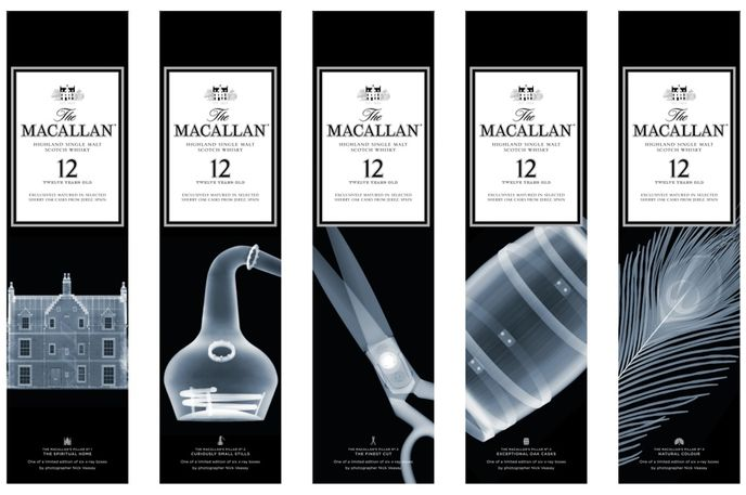 Macallan and Nick Veasey packaging