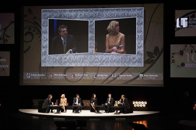 Ultratravel forum debate at the ILTM