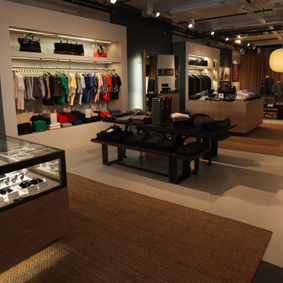 Partners are a good match for new men's store