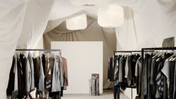 Soft palette: Fashion store shows inner calm