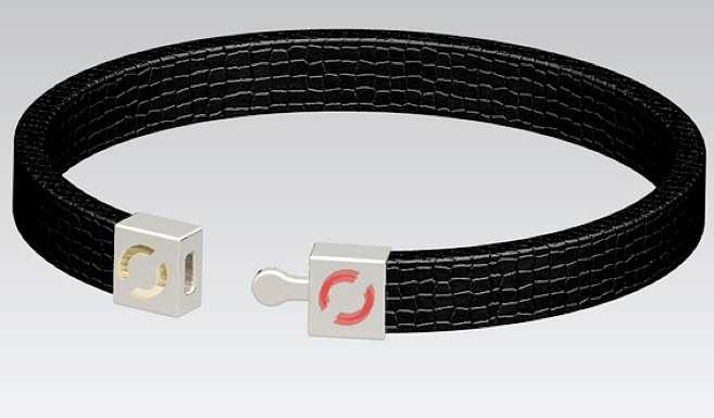 Magpies app and interactive bracelet, a concept for a Unilever which allows couples and friends to monitor each other's actions and stay connected
