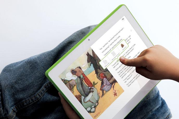 OLPC laptop by Fuse Projects, Las Vegas