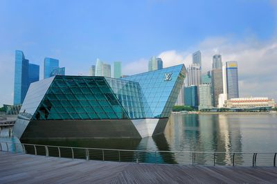 Louis Vuitton Maison store, Marina Bay Sands, Singapore
