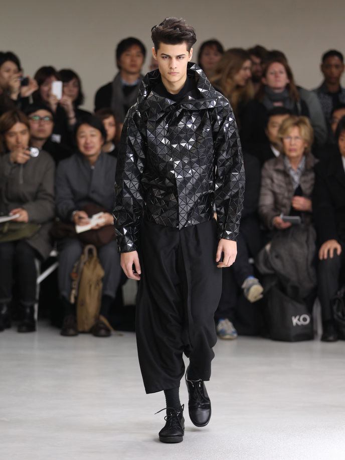 Issey Miyake meswear collection AW12, Paris